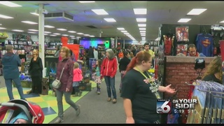 Weekend sales soar for Halloween stores