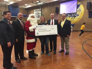 LSMS teacher wins $100,000 grant for school