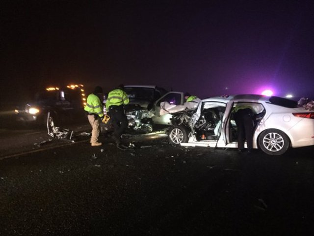 Two dead after crash on Hwy. 55 west of Nampa