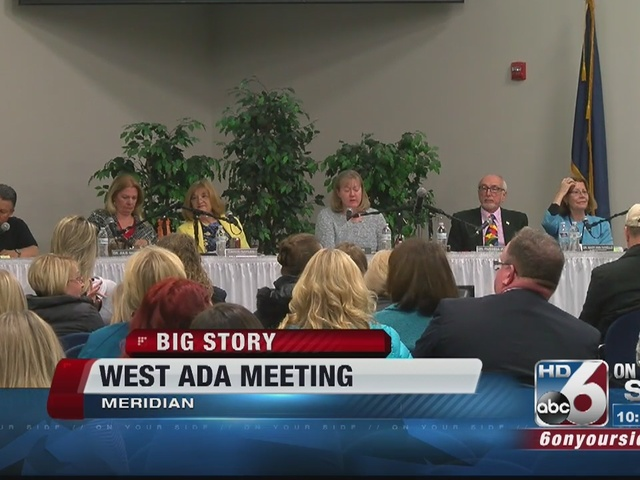 West Ada trustees approve boundary changes