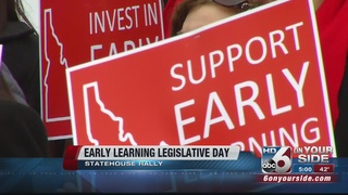 Early Learning rally-goers push for action