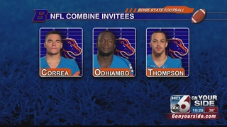 BSU Trio set for NFL Combine
