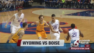 Boise State downs Wyoming 94-71