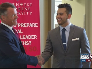 NNU student wins franchise in contest