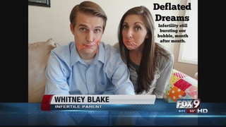 Couple brings humor to infertility struggle