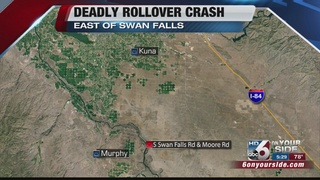 Meridian teen dies in rollover crash