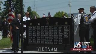 Vietnam War Memorial unveiled in Boise