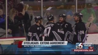 Steelheads extend agreement with Stars