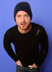 Aaron Paul shares McCall with Stephen Colbert