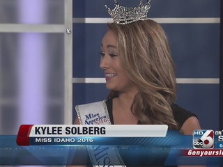 Miss Idaho 2016 stops by Good Morning Idaho