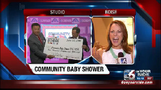 10th Annual Community Baby Shower is underway