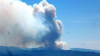 UPDATE: Pioneer Fire grows to 1,300 acres