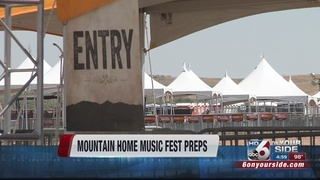 Music Festival almost ready to take center-stage