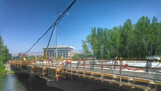 Broadway bridge to open before BSU home game