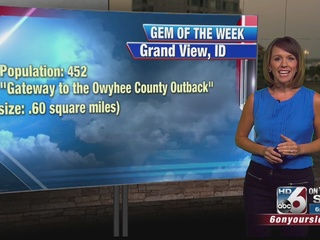 Gem of the Week on Good Morning Idaho: Grand...