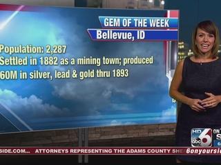 Rachel Garceau's Gem of the Week: Bellevue, ID