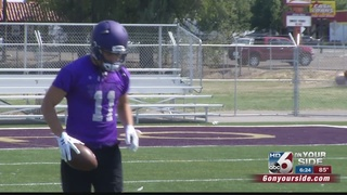 Yotes Defense Strong in first scrimmage