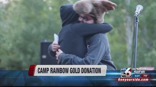 Camp Rainbow Gold for cancer patients gets land