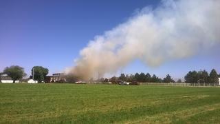 Crews scramble to grass fire in Nampa