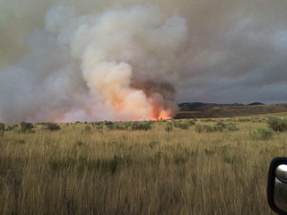 Henry's Creek Fire grows to 43,235 acres