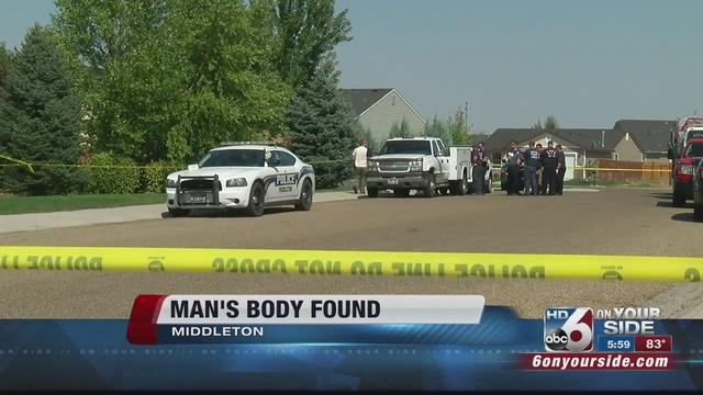 Body found near missing Middleton man's car