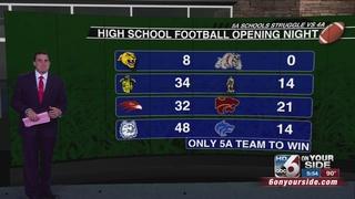 5a Football teams struggle against 4a teams