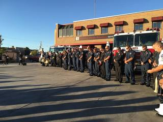 Nampa FD holds 9/11 memorial ceremony
