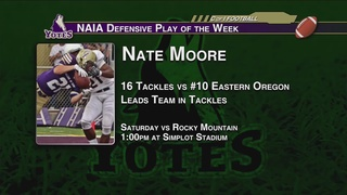 Moore named Defensive POW