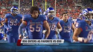Oddsmakers favor Boise State vs. OSU