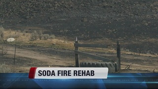Soda Fire rehab treatments to continue