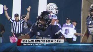 Utah State game time announced