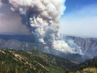 Crews gain ground in containing Pioneer Fire