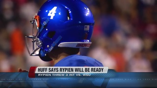 Huff has high hopes for Rypien this week