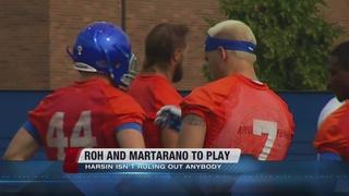 Roh and Martarano to play Saturday