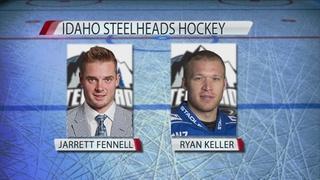 Steelheads add rookies Fennell and Keller