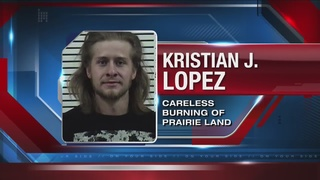 Man cited for starting Henry's Creek Fire