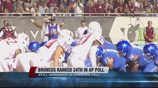 Boise State Ranked in Top 25