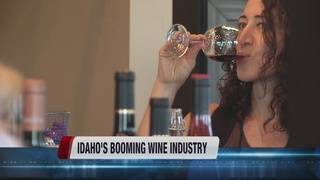 Idaho's local wine industry continues to grow