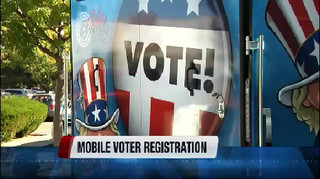 Mobile voting registration in Ada County