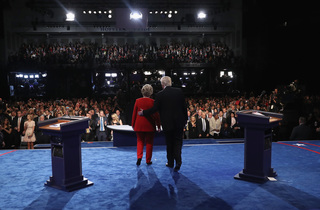 PHOTOS: Historic night at Presidential Debate