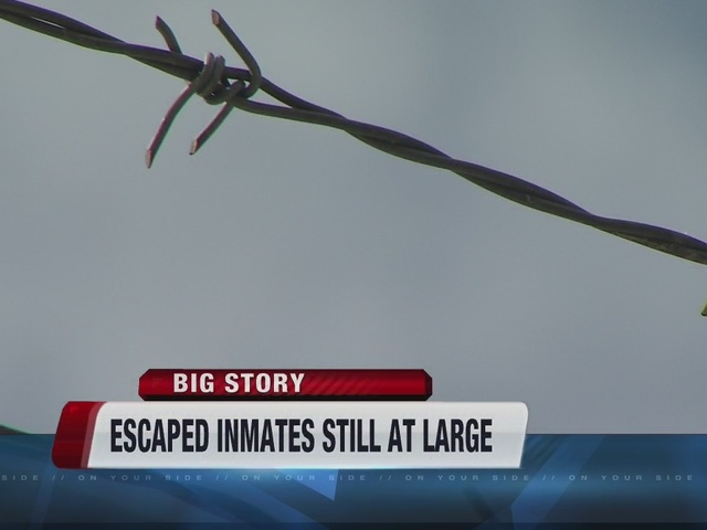Escaped Canyon County Jail inmates still at large