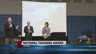 Boise teacher wins national teaching award