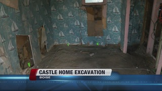 James Castle home renovation project underway