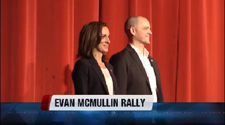 Evan McMullin holds rallly in Boise