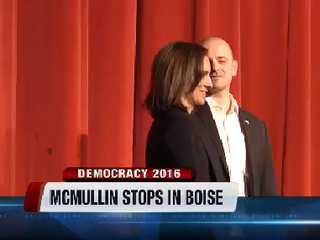 Evan McMullin makes appeal to Idaho voters