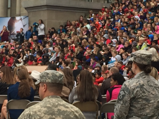 Hundreds turn out for Red Ribbon Week kick-off