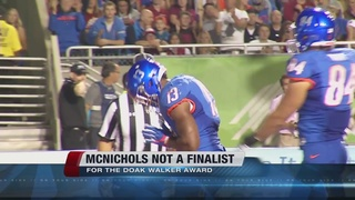 McNichols not named Doak Walker Finalist