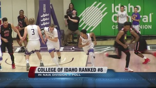 C of I Ranked #8 in NAIA Division II Poll