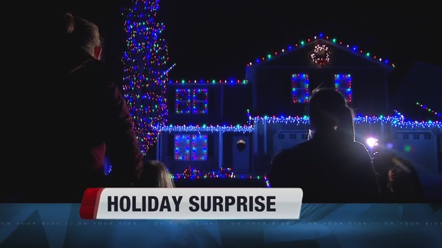 Idaho military family gets a holiday surprise