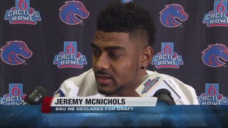 McNichols to leave early for the draft